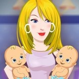 Игра Барби Рожает: Супер Мама 2