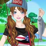 Игра Собираемся на Рыбалку: Одевалка на Оценку