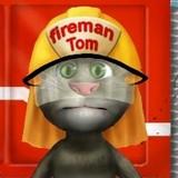 Игра Моет Пожарную Машину: Говорящий Том
