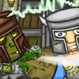 Игра Битва Рыцарей с Зомби