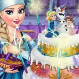 Игра Свадебный Торт Эльзы