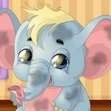 Игра Зоосалон: Ухаживай за Слонёнком