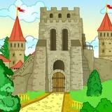 Игра Пазл Старая Крепость