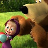 Игра Маша и медведь: Пазлы