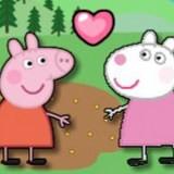 Игра Свинка Пеппа: Дружеский Поцелуй