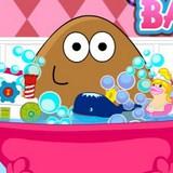 Игра Девушка Поу - день купания
