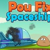 Игра Поу чинит космический корабль