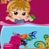 Игра Малышка Братц: Садок Для Рыбы