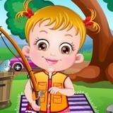 Игра Малышка Хейзел: Рыбалка