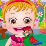 Игра Уход за Попугаями: Малышка Хейзел