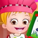 Игра Изучает Цвета: Малышка Хейзел