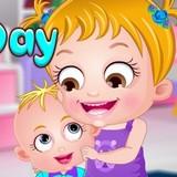 Игра День Братьев и Сестёр: Малышка Хейзел