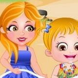 Игра Вечеринка на Пляже: Малышка Хейзел