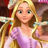Игра Фантастическая Причёска: Принцесса Рапунцель