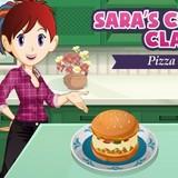 Игра Пицца Бургер: Кухня Сары