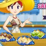 Игра Фруктовое Мороженое: Кухня Сары