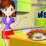 Игра Мясной Хлеб: Кухня Сары