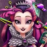 Игра Прическа для Королевы Рейвен