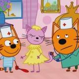 Игра Три Кота: Игра в Доктора